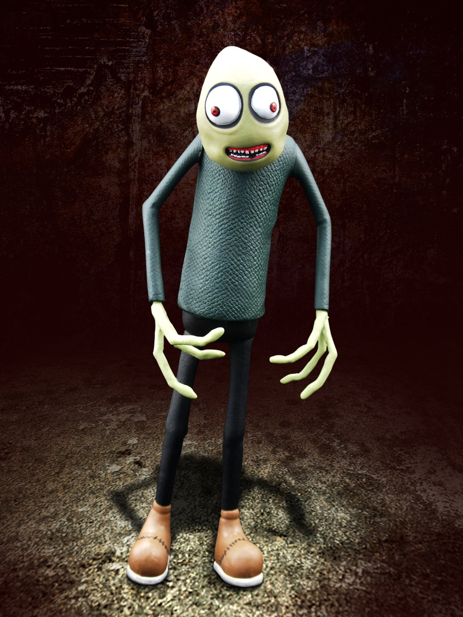 Image of SALAD FINGERS ACTION FIGURE (TEETH EDITION)