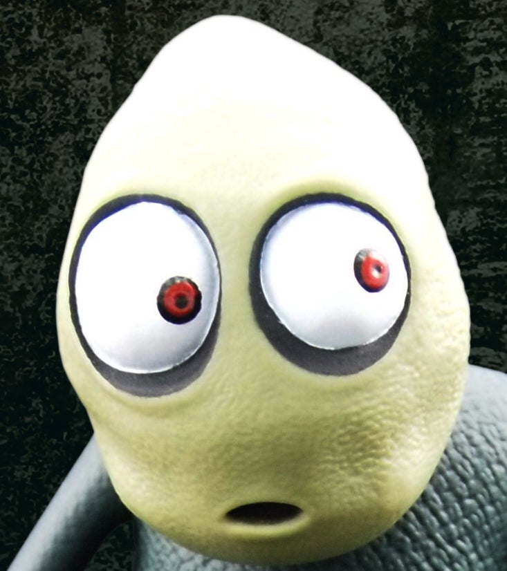 Image of SALAD FINGERS ACTION FIGURE (CURIOUS EDITION)