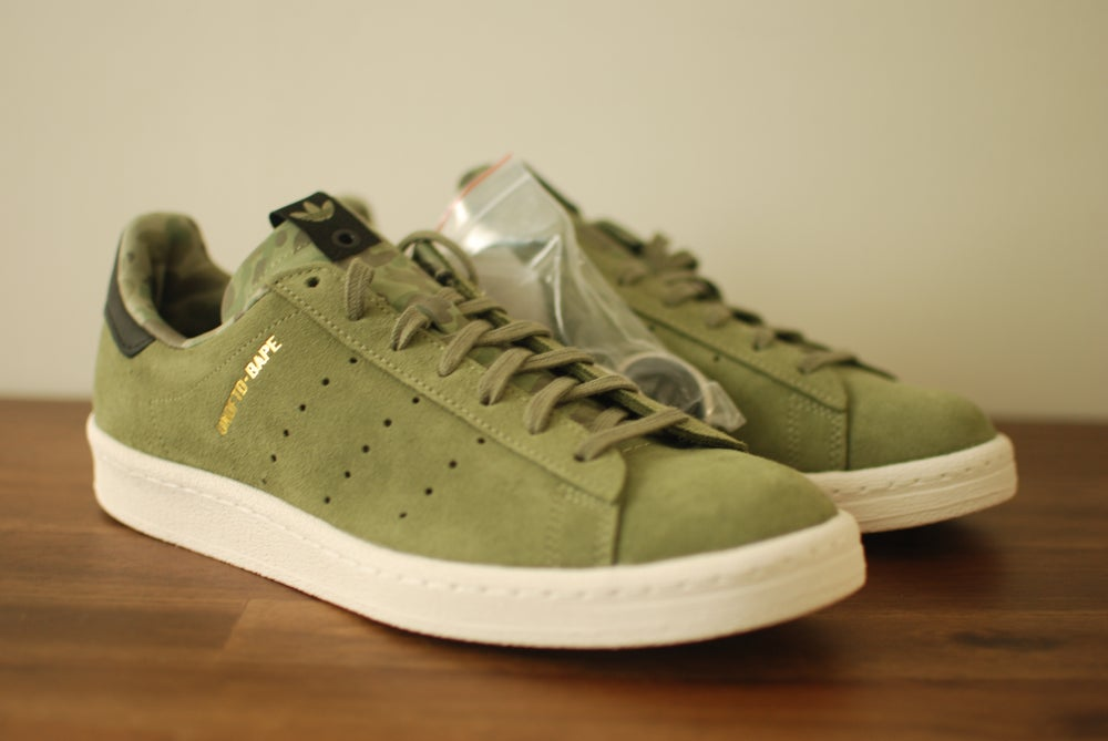 Image of Bape x Undefeated x Adidas Campus 80s