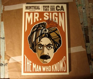 Image of 'Magic Man' Silkscreened Print