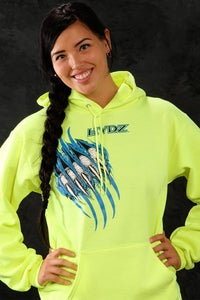 Image of Always Ready / Hoodie - Neon Green (UNISEX)