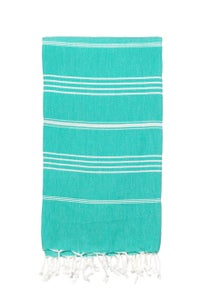 Image of Hammamas Turkish Towel (Spearmint)