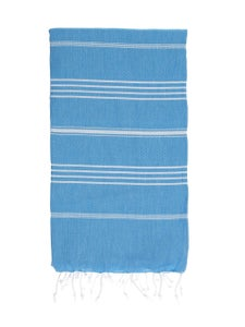 Image of Hammamas Turkish Towel (Aqua)