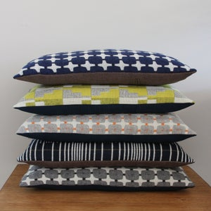 Image of eleanor pritchard woven woollen cushions