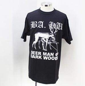 Image of BA. KU. DEER MAN OF DARK WOODS DISGUISE T-SHIRT