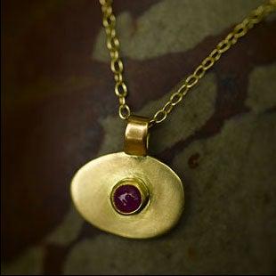 Image of 18K Third Eye Necklaces