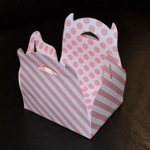 Image of Boite à cadeau rose 13x10cm