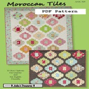 Image of Moroccan Tiles PDF Pattern
