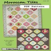 Image of Moroccan Tiles PDF Pattern