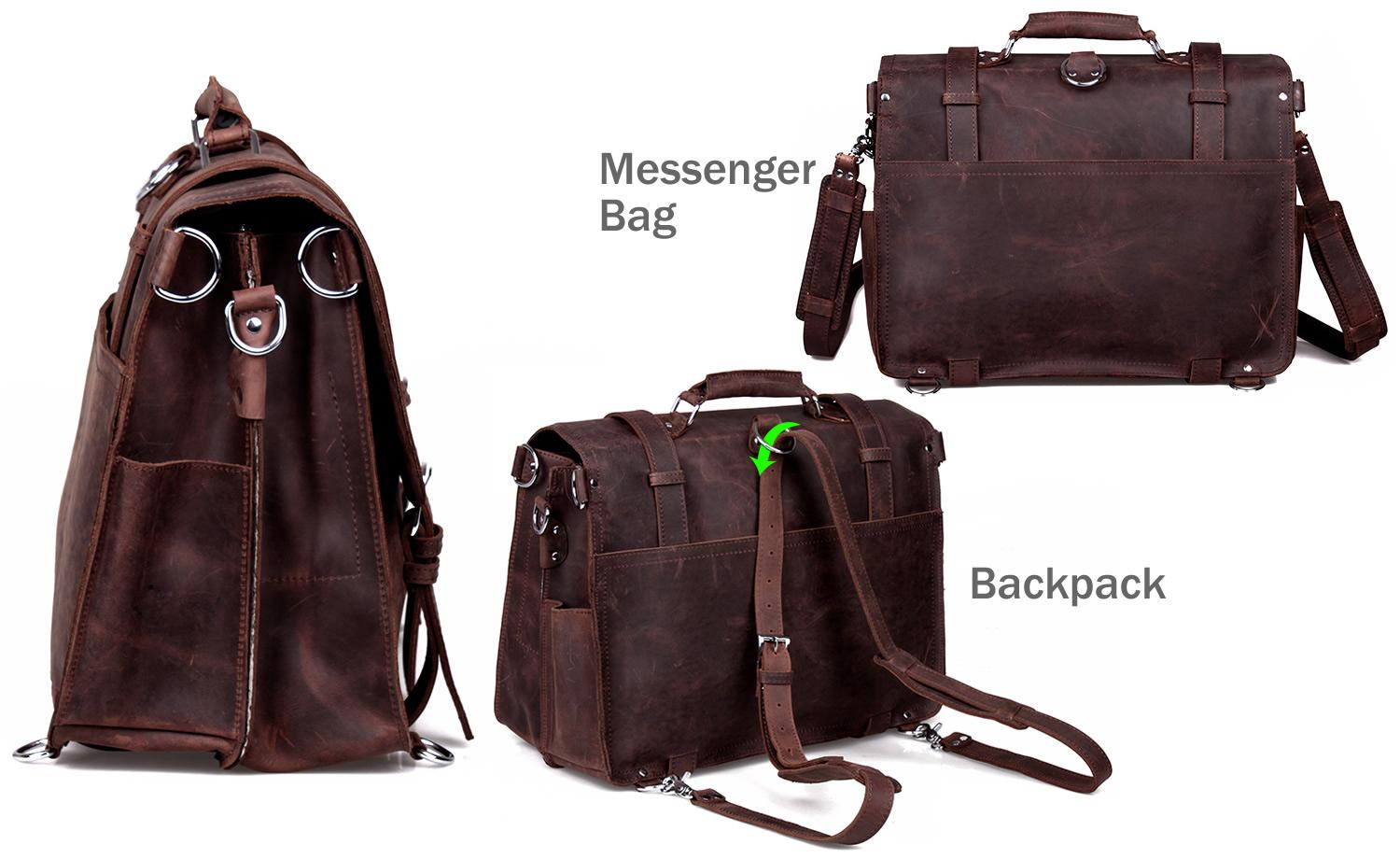 Neo Handmade Leather Bags | neo leather bags — Men's Extra Large ...