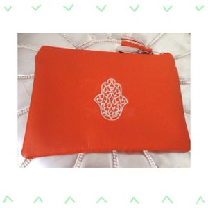Image of Khmisa Clutch Orange