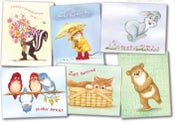 Image of GW01 GET WELL CARDS