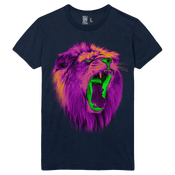 "Image of ""Toxic Scream"" Men's Tee - Navy Blue"
