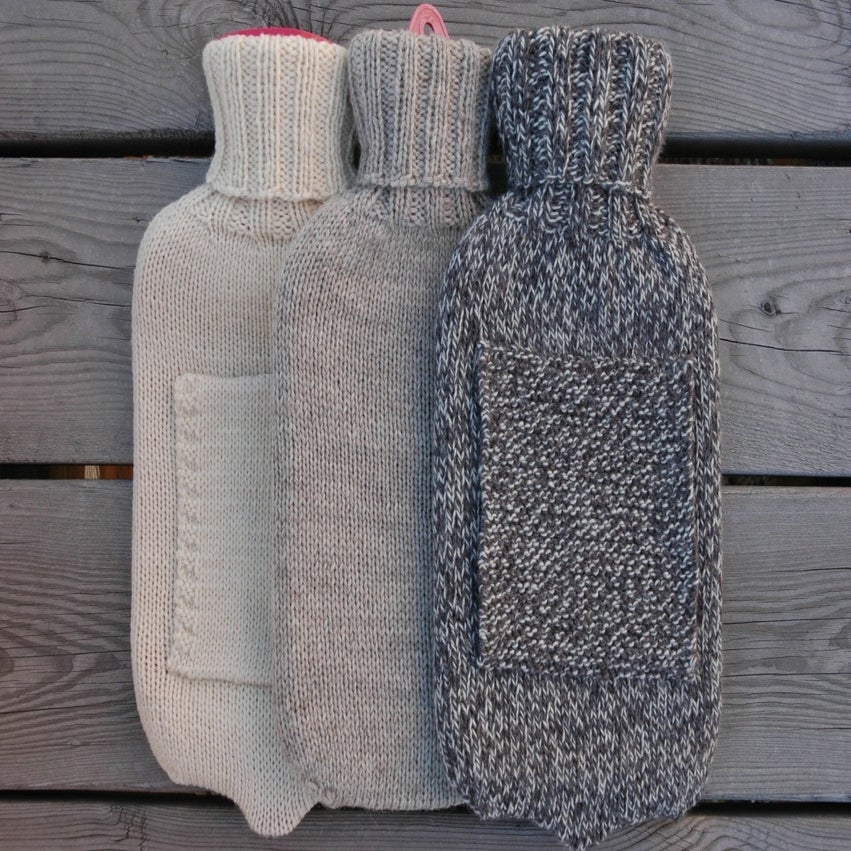 Image of Hot Water Bottle Cover Pattern