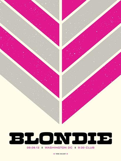 Image of Blondie - Washington DC '13 (Pink)