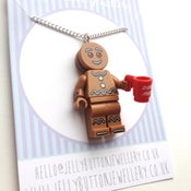 Image of Lego GingerBread Man Necklace