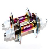 Image of Oil Slick Low Flange Hubset Unknown Bike Co.