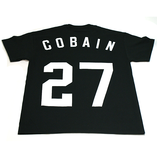 Image of Cobain Ghost of Grunge Youth Culture Jersey