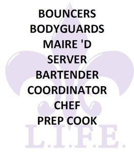 Image of HIRE STAFF FOR YOUR EVENT OR PARTY