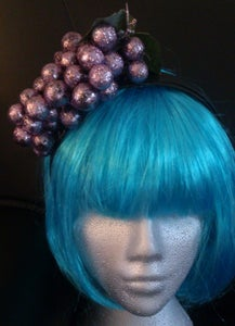 Image of Oh grapes! Glitter Fascinator
