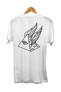 Image of PYRAMID SCHEME TEE <br /> BACK IN WHITE!