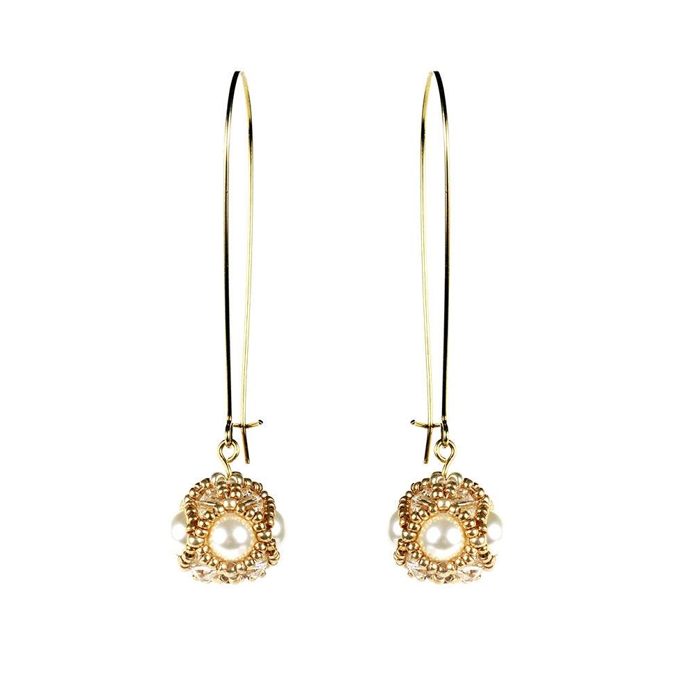Image of Empire earrings - Pearl