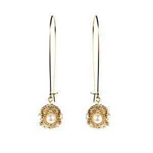 Image of Empire earrings - Pearl