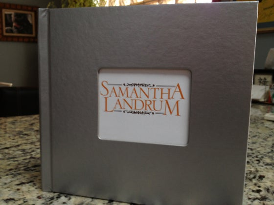 "Image of Samantha Landrum ""Hometown"" Recipe Book/CD Single"