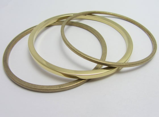 Image of Samantha Landrum Strength Bangle Set