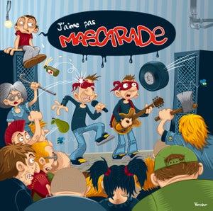 """Image of ALBUM """"J'AIME PAS MASCARADE"""" 2013"""