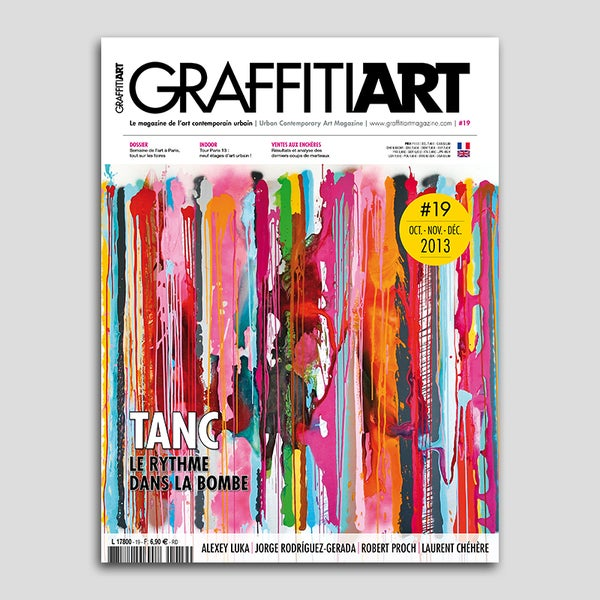 Image of Graffiti Art Magazine #19