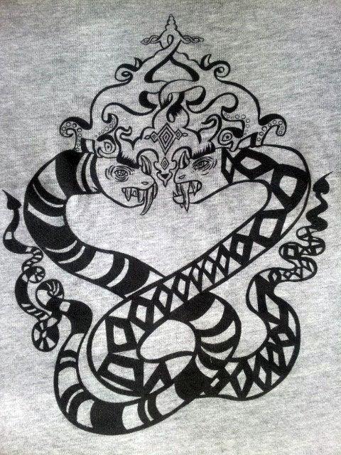 Image of Snake Duo Women's t-shirt
