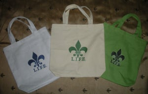 Image of L.I.F.E. © (ALL RIGHTS RESERVED BY L.I.F.E.) CANVAS BAGS