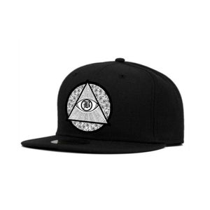 Image of BRXXKS LOGO Snapback White/Black