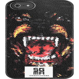 "Image of ""FAUX DOG"" iPhone 5 Case"