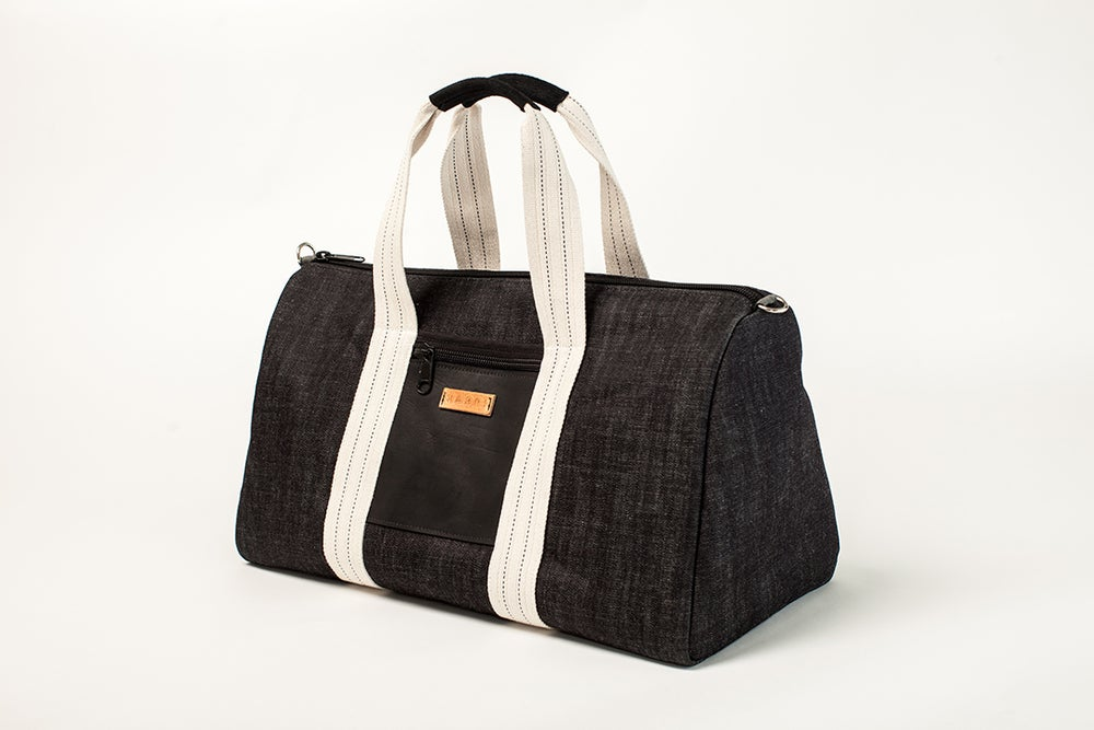 Image of Jetset Denim Travel Bag