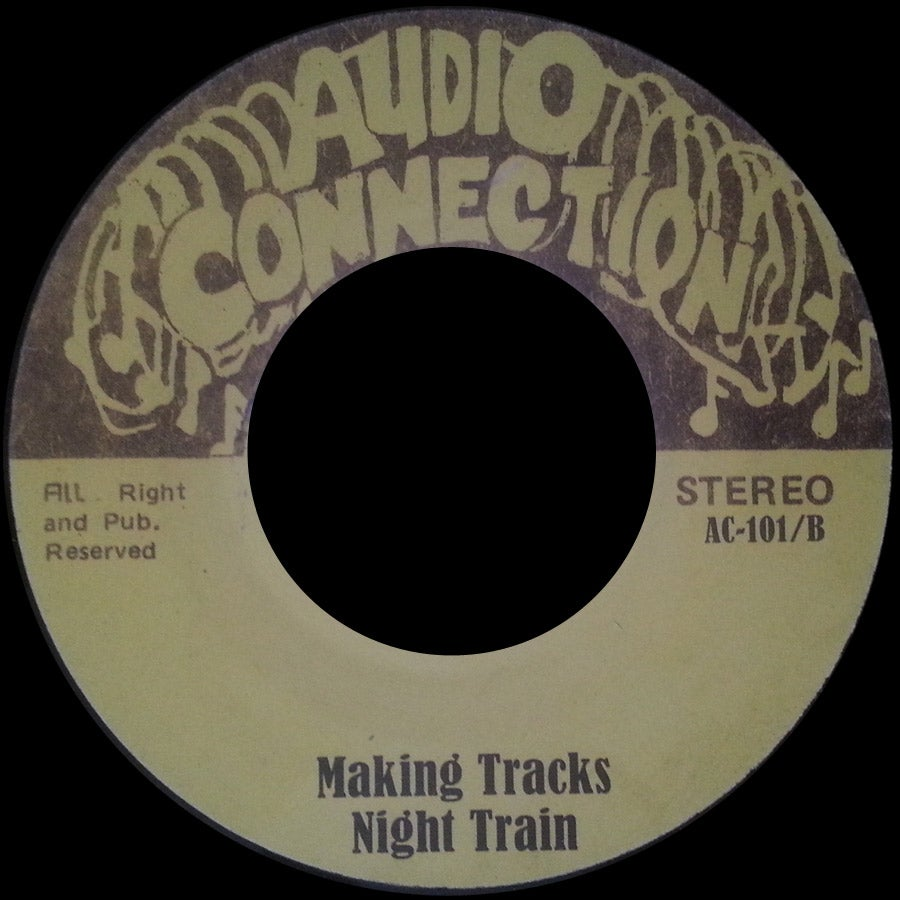 "Image of AC-101 ""MAKING TRACKS"" NIGHT TRAIN/""GENERAL ALARM"" WILLIE ROYAL"