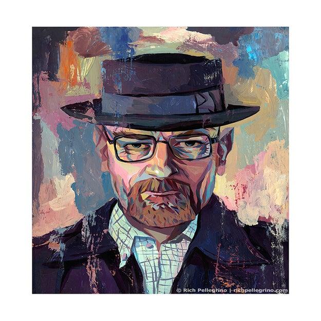 Image of Heisenberg (Walter White Breaking Bad) Artist Proof