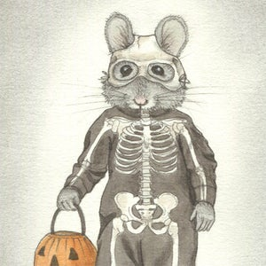 Image of Trick or Treat Skeleton Mouse