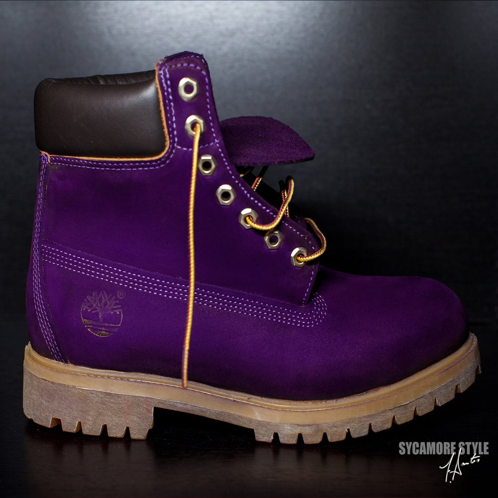 Innovative Timberland 6 Premium Boot  160 00 Color Purple Purple Size 6 6 5 7 7