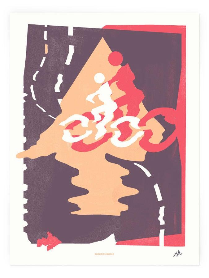 Image of Art Crank Poster - Shadow People