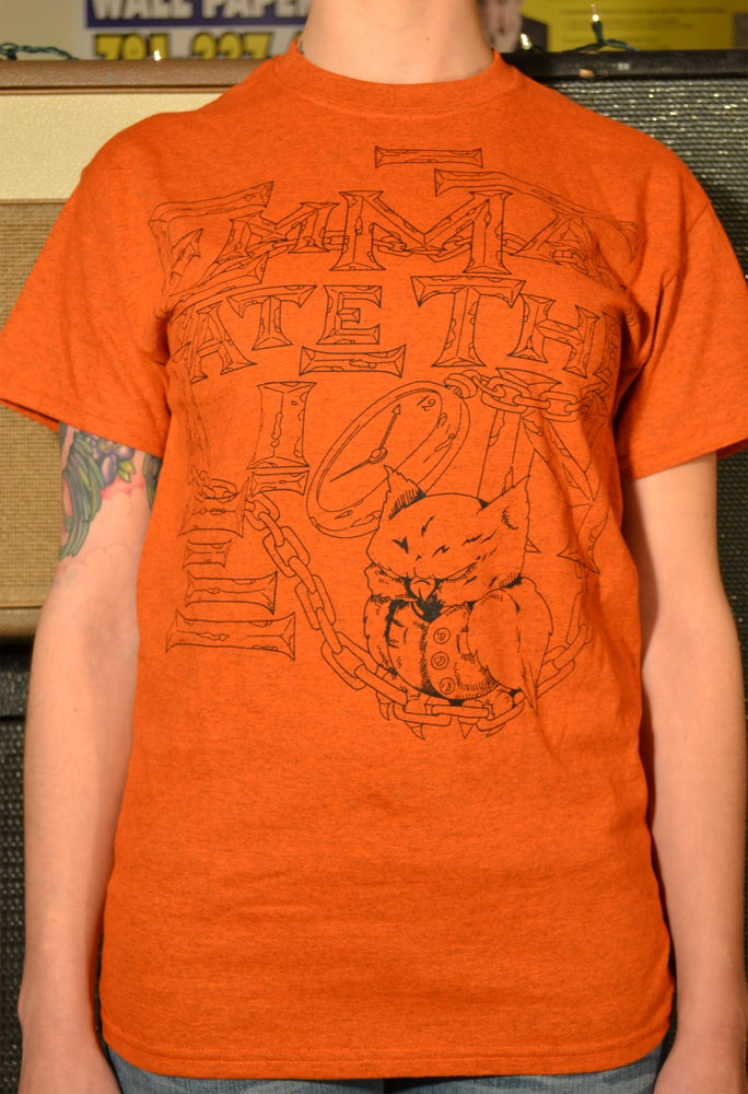 Image of Owl T-Shirt (orange)