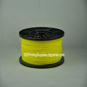 Image of Yellow PLA or ABS Filament