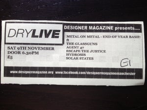 Image of Metal on Metal End Of Year Bash