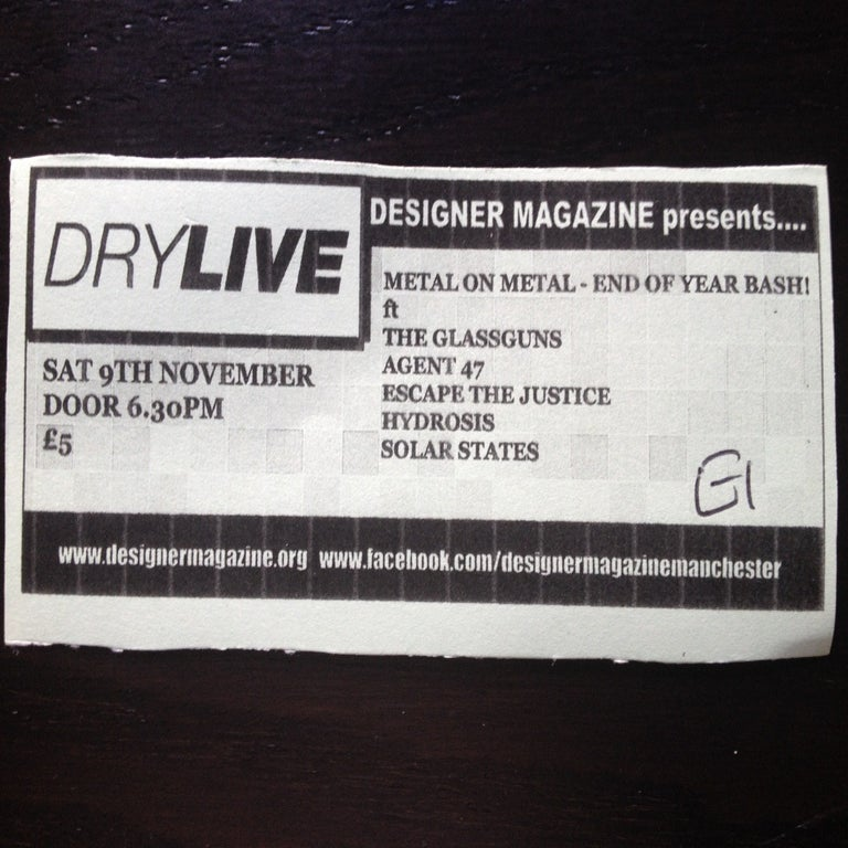 Image of Metal on Metal End Of Year Bash