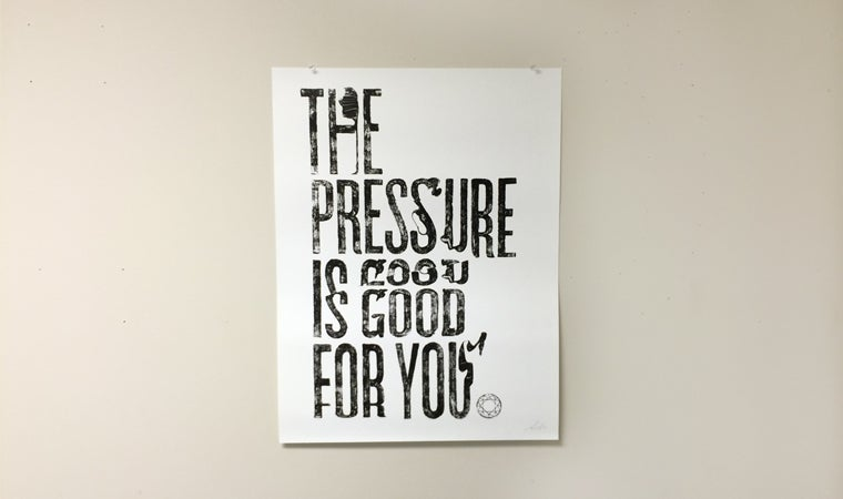 Image of The Pressure Print