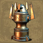 Image of Atlantean Horned Idol