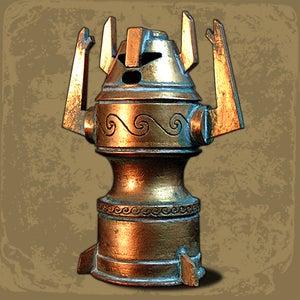 Image of Atlantean Horned Idol