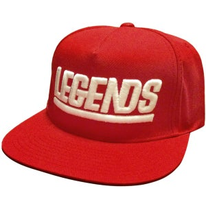 Image of LEGENDS RED SNAPBACK