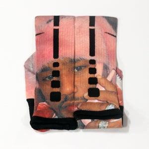 Image of OFFICIAL CAMRON SOCK PINK